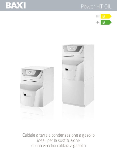 Baxi - Catalogo Power HT OIL (agg.to 11/2018)