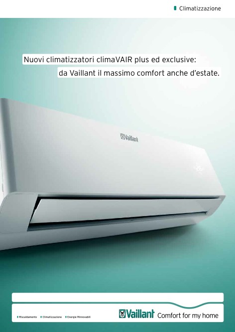 Vaillant - Catalogue climaVAIR plus ed exclusive