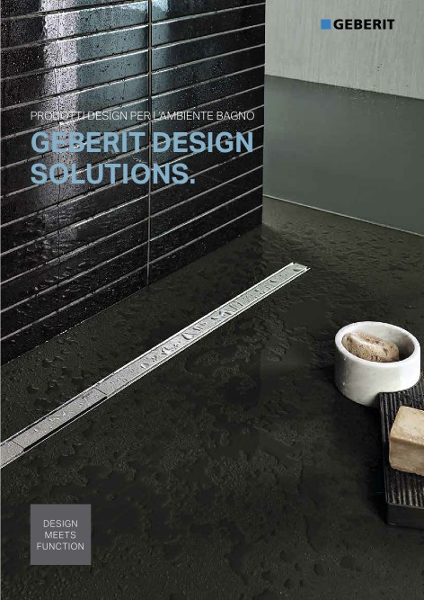 Geberit - Catalogo DESIGN SOLUTIONS