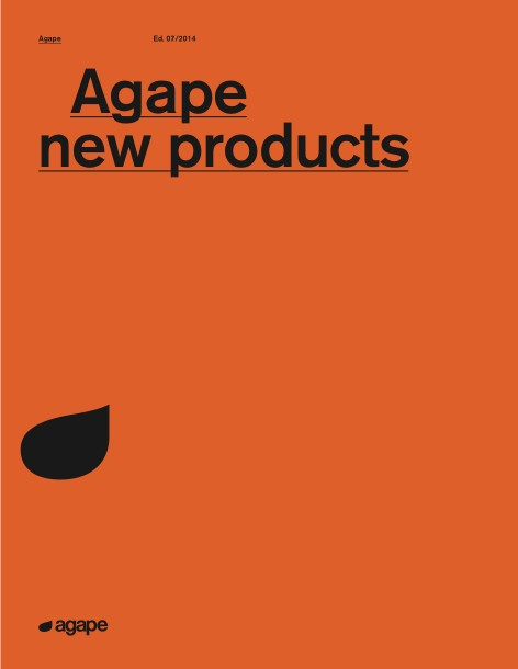 Agape - Catalogo New product Ed. 07/2014