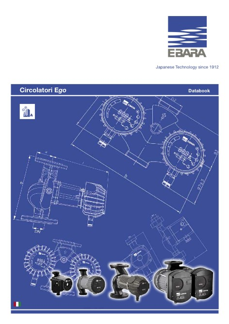 Ebara Pumps Europe - Catalogo Circolatori Ego