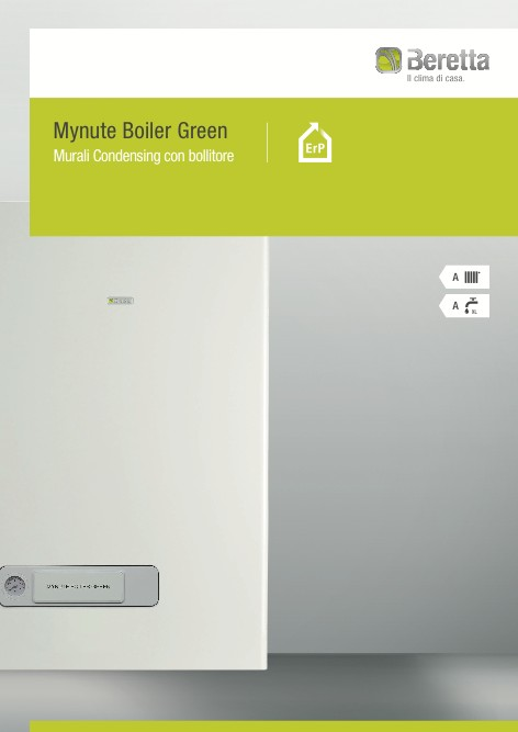 Beretta - Catalogo Mynute Boiler Green