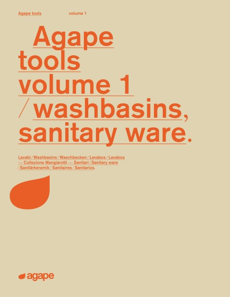 Agape - Catalogo Tools volume 1 - washbasins, sanitary ware