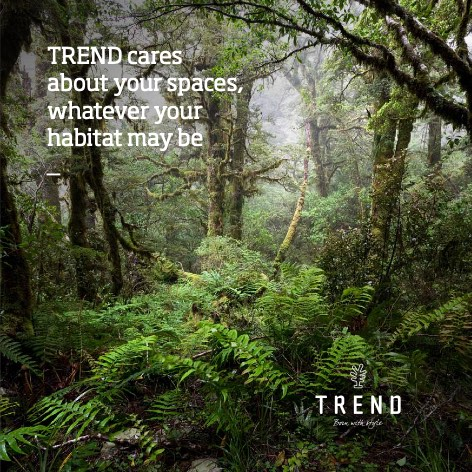 Trend - Catalogo TREND cares about your spaces, whatever your habitat may be