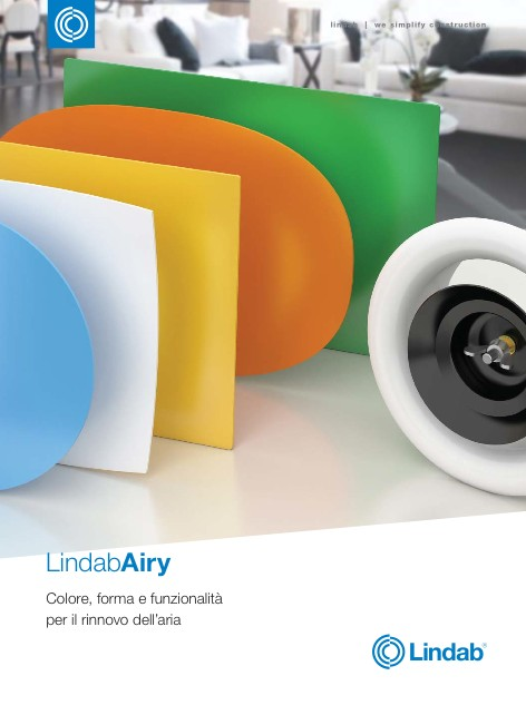 Lindab - Catalogue Airy
