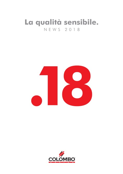 Colombo Design - Catalogo News 2018