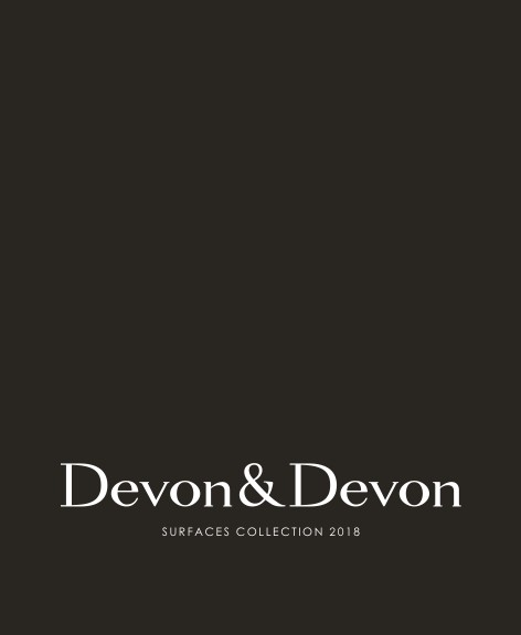 Devon&Devon - Catalogo SURFACES COLLECTION 2018