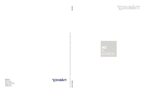 Duravit - Catalogo Me By Starck