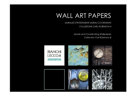 Bianchi Lecco - Catalogo WALL ART PAPERS