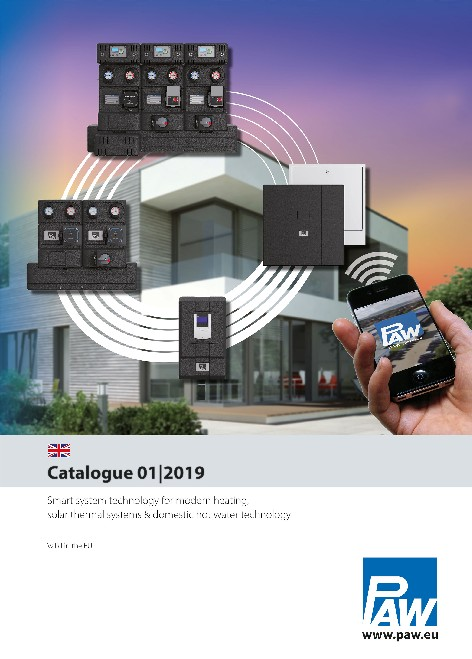 Paw - Catalogo 01/2019 heating technology