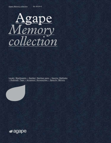 Agape - Catalogo Memory collection 09/2016