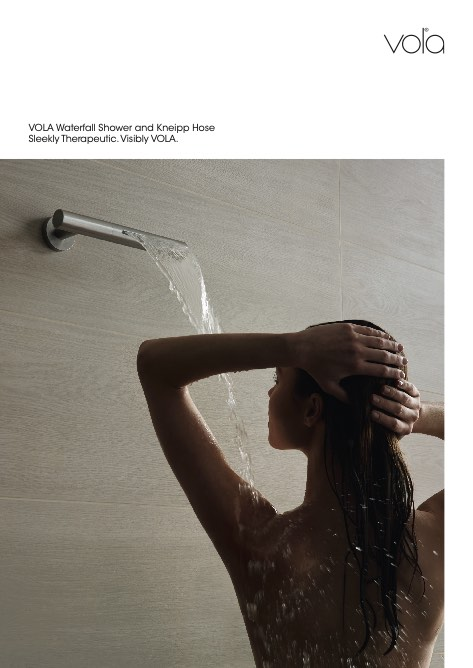 Vola - Catalogo Waterfall Shower and Kneipp Hose