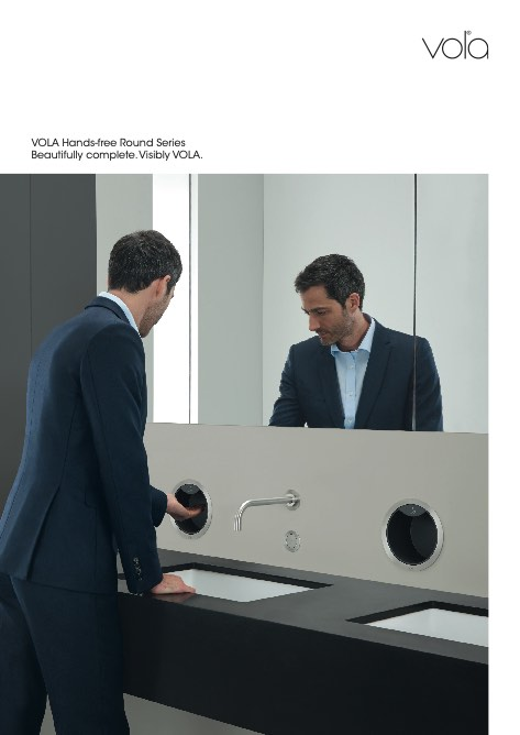 Vola - Catalogo Hands-free Round Series