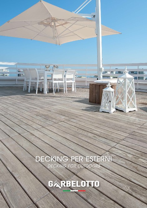 Garbelotto - Catalogo Decking