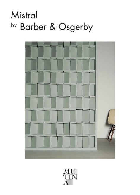 Mutina - Catalogo Mistral by Barber & Osgerby