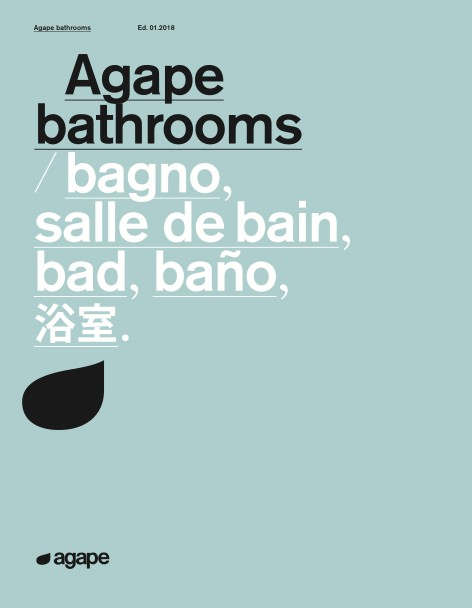 Agape - Catalogo Bathrooms Ed. 01.2018