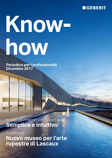 Geberit - Catalogo  Know-how Dicembre 2017