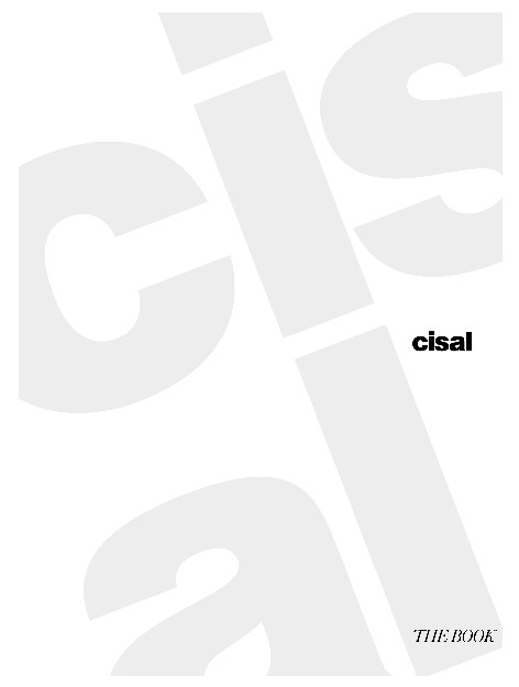 Cisal - Catalogo The Book