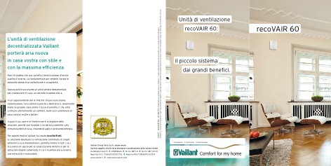 Vaillant - Catalogue recoVAIR 60