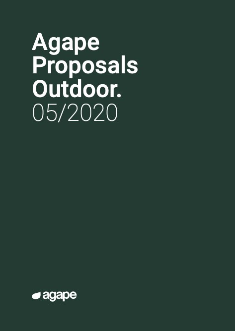 Agape - Catalogo Proposals Outdoor 05/2020