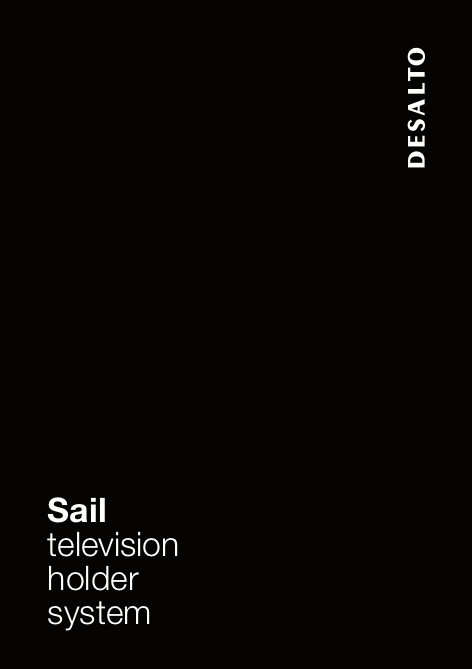 Desalto - Catalogo Sail television holder system