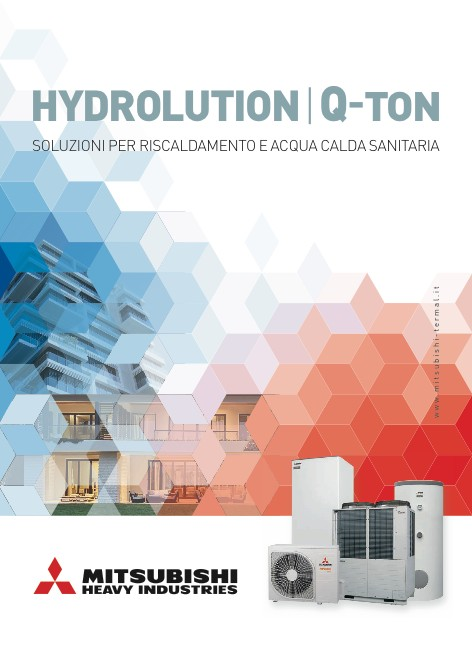 Mitsubishi Heavy Industries - Catalogue HYDROLUTION Q-TON