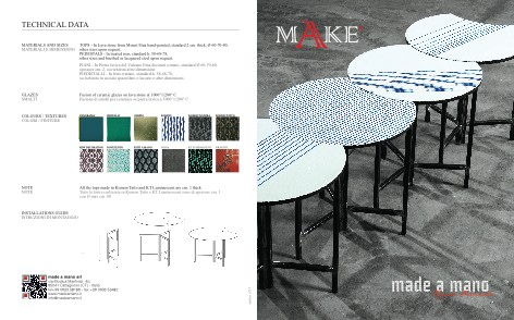 Made a Mano - Catalogo Make