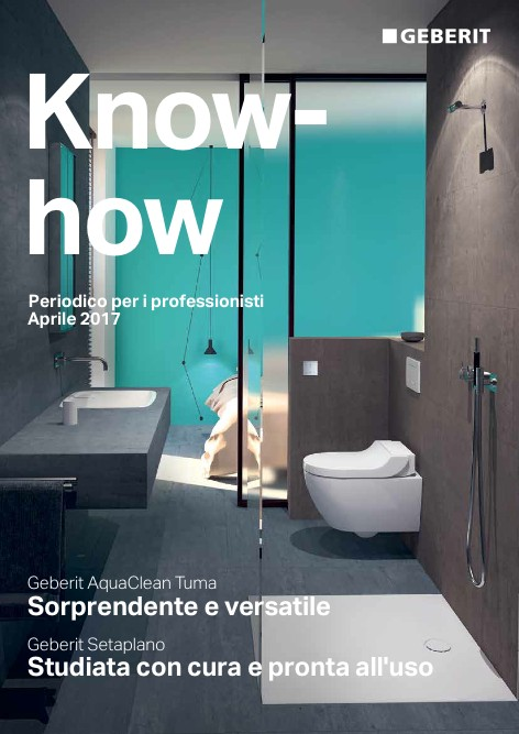 Geberit - Catalogo  Know-how Aprile 2017