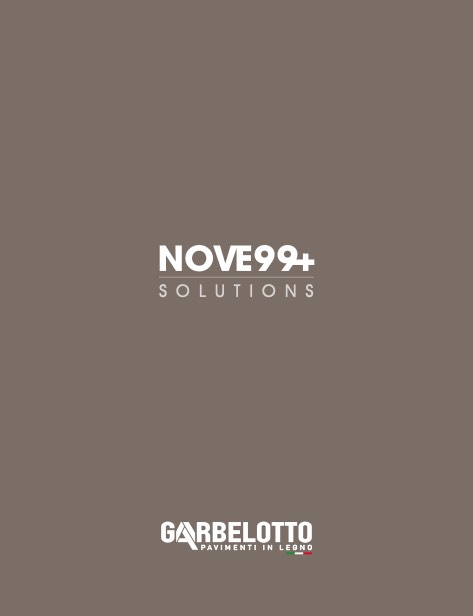 Garbelotto - Catalogo Nove99+