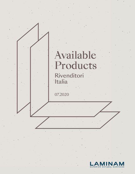 Laminam - Catalogo Available Products